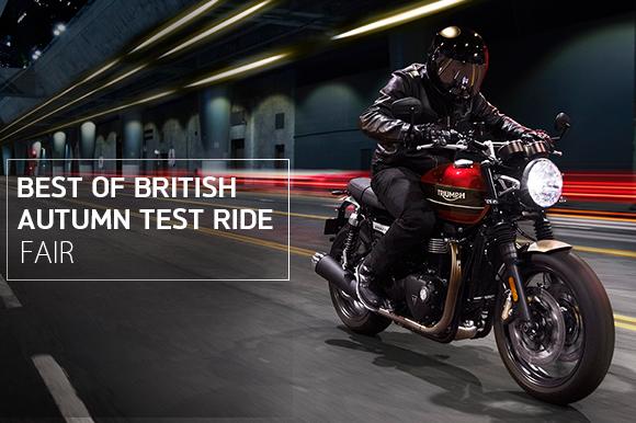 Best of British「Autumn Test Ride フェア」開催